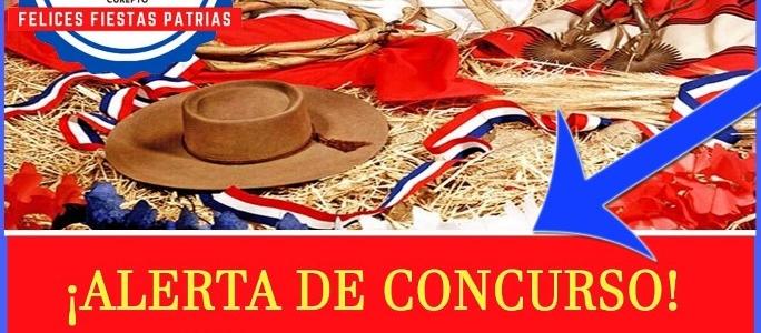 ¡Ya están Disponibles !,  las bases concurso decoración fachadas en Fiestas Patrias